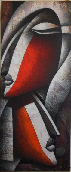 Jagannath Paul, 1976 | Abstract Figurative painter | Tutt'Art@ | Pittura • Scultura • Poesia • Musica
