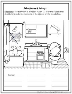Daily Routine Vocabulary Matching Exercise ESL Worksheets