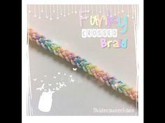 Funky Crossed Braid - YouTube Using monster tail