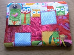 Cute Crazy Patchwork Cosmetic Sewing  Wallet Purse Bag by Giorgann, £8.00