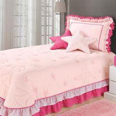 2172eeb28a Jogo de Cama Poá Casa Dona Solteiro 4 peças Rosa