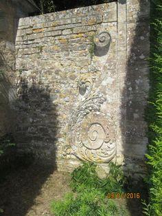 Château de Brécy (14) Terrasse des fontaines