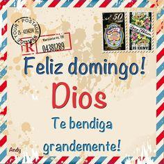 Feliz Domingo, Bendiciones!