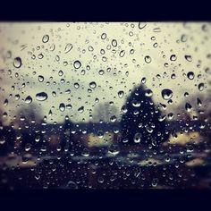 Under the rain .... .