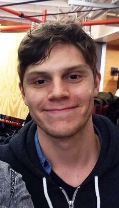 The cutest guy ever!!! I'm so in love with Evan Peters from American Horror Story!!!! Love!!!