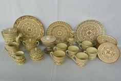 27 Pieces Alfareria Jimenez Hand Made Pottery : Lot 1369