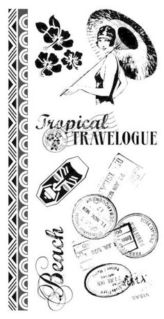 graphic 45 stamps - Google Search