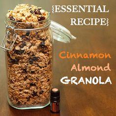 doTERRA cinnamon almond granola recipe