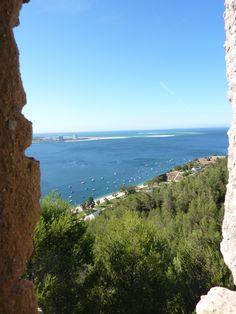 View of Pousada de Setúbal :Portinho da Arrábida- Portugal