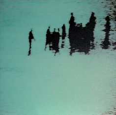 Turquoise by Michal Rovner, 2003 Rider Waite Tarot, Smells Like Teen Spirit, Shadow Play, Light And Shadow, Installation Art, Les Oeuvres, Amazing Art, Art Photography, Photos