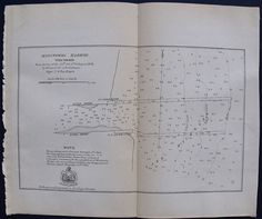 1866 Antique Map: Manitowoc Harbor, Wisconsin WI Lake Michigan.  By Brevet Lt. Colonel J.D. Graham
