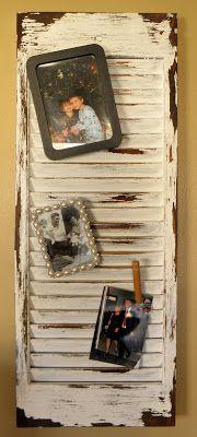 Shabby Love: Homemade Shutters