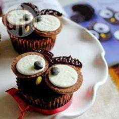 Cupcake de coruja @ allrecipes.com.br