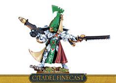 Eldar Autarch with Fusion Gun