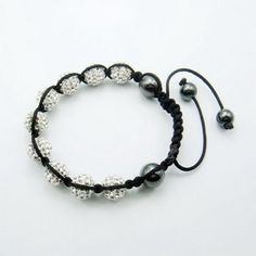 Fashion Designs Shamballa Bracelet with Lampwork Pandora Beads for Charms Jewelry Trend 22mm 16.6g