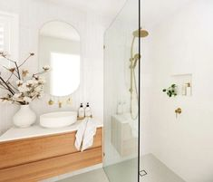 Small Bathroom Renovations 370984088057631639 - My Bathroom Renovation Revealed — Adore Home Magazine Source by Bathroom Renos, Laundry In Bathroom, Simple Bathroom, Bathroom Ideas, Bathroom Organization, Minimal Bathroom, Shower Ideas, Parisian Bathroom, Small Bathroom With Shower