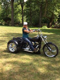 96 Dyna Wide Glide Trike!!! Itrikebikes.com