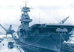 USS Yorktown, 1942.