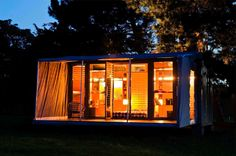 Storage Container Vacation Home