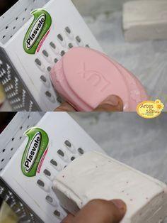 mistura para lavar roupas - Tirar cheiro de suor e manchas diversas - Artes da Sadhia na cozinha