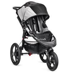 Baby Jogger Summit X3 - Cochecito para bebé, 3 ruedas, color negro / gris  #madre
