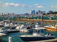 Thomas Logan - Downtown Boston from Winthrop Massachusetts