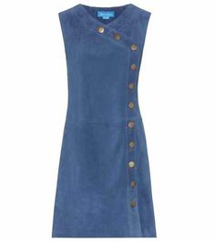 Embroidered Denim Pinafore Dress by Glamorous Petite in 2020 Jeans Dress, Dress Skirt, Mode Jeans, Kurta Designs, Mode Inspiration, Denim Fashion, Dress Patterns, Designer Dresses, Designer Shoes