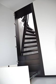 great design! a staircase that fits into just one square metre - 1m² staircase | EeStairs