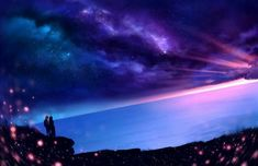 【Chill】Owl City - Fireflies (Said The Sky Remix) Owl City Fireflies, Art Background, Fantasy Background, Anime Scenery, Cool Artwork, Night Skies, Amazing Art, Fantasy Art, Beautiful Pictures