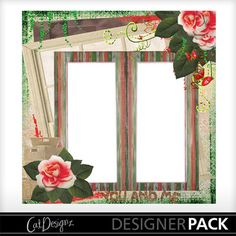 Digital Scrapbooking Kits | Deco Rosa Quickpage 2-(CatDes) | Decorative, Everyday, Family, Friends | MyMemories