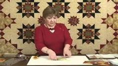 Deb Tucker Wing Clipper ruler. How to make easy accurate flying geese.