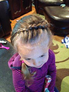 """Elsa"" frozen braid"