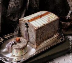 """Шкатулки ручной работы. Ярмарка Мастеров - ручная работа """"PARADOX"""" - настольная сигаретница и шкатулочка.. Handmade."""