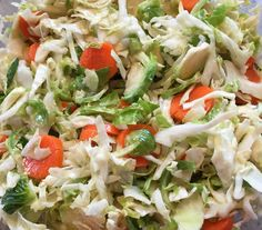 Recipe: Asian Sprout & Cabbage Slaw