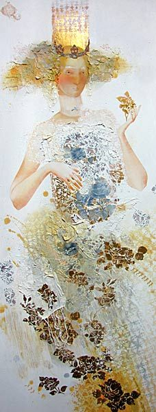 Artist Yulia Luchkina. Painting