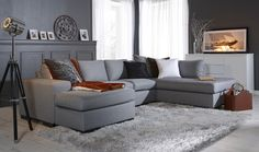 Warm, cosy feeling in this living room Cosy, Cool Designs, Sweet Home, New Homes, Living Room, Interior, Inspiration, Furniture, Home Decor