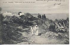 Tunisie - Un village au bord de la mer 1915?