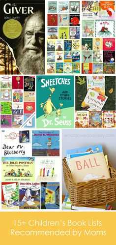 15+ Children's Book Lists Recommended By Moms
