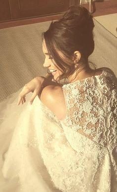 Rachel Zane wedding hair