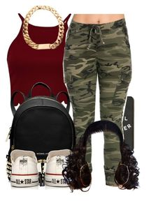 """""""Untitled #241"""" by jaziscomplex ❤ liked on Polyvore featuring MICHAEL Michael Kors and Converse"""