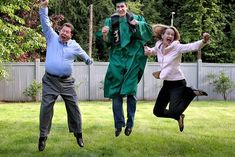 Your Merry Mailbox: Graduation Week: The Pictures