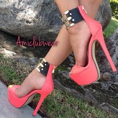 Pretty Heels, Gorgeous Heels, Cute Heels, Sexy Heels, Beautiful Shoes, Hot Shoes, Crazy Shoes, Stiletto Shoes, Shoes Heels