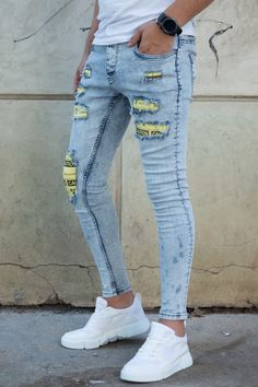 Blugi Slim COD B4728 Cod, Skinny Jeans, Slim, Pants, Outfits, Style, Fashion, Trouser Pants, Swag