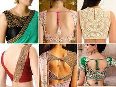 Marvellous #blouse #designs to flaunt.  Rakhi & Tarak