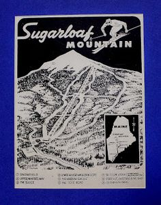 Maine Vintage Ski Images: Sugarloaf