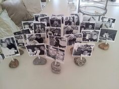 8 nydelige idéer til konfirmasjonspyntingen. Diy And Crafts, Place Cards, Table Settings, Photo Wall, Frame, Party, Wedding, Inspiration, Anton
