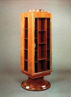 Émile-Jacques Ruhlmann Revolving Bookcase