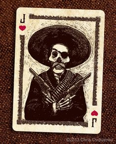 Calaveras — Playing cards inspired by the Day of the Dead by Chris Ovdiyenko — Kickstarter  I backed this project this morning.  I'm looking forward to getting my deck. (E.J.)