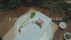 A film about slowing down and taking time out of your day to enjoy company with one another around a table. Kinfolk Magazine, Place Card Holders, Day, Creative, Projects, Table, Films, Log Projects, Movies