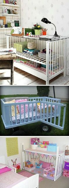 Reuse baby cribs